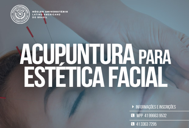 Curso de Acupuntura para Estética Facial