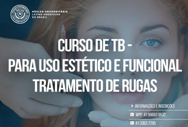 Curso de Toxina B. para uso Estético e Funcional – Curitiba