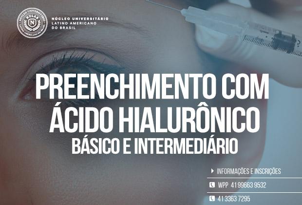 Curso de Preenchimento Facial – Básico e Intermediário – Curitiba