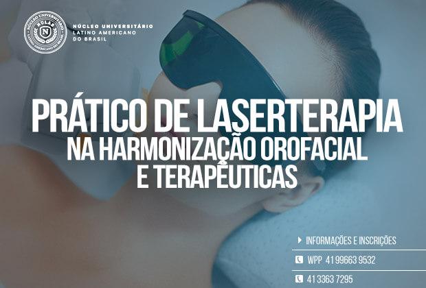 Curso de Laserterapia Prático na Harmonização Orofacial e Terapêuticas