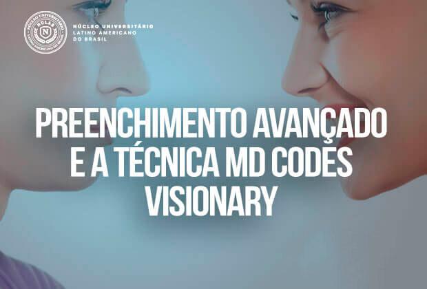 Curso MD Codes Visionary Curitiba – Preenchimento Avançado