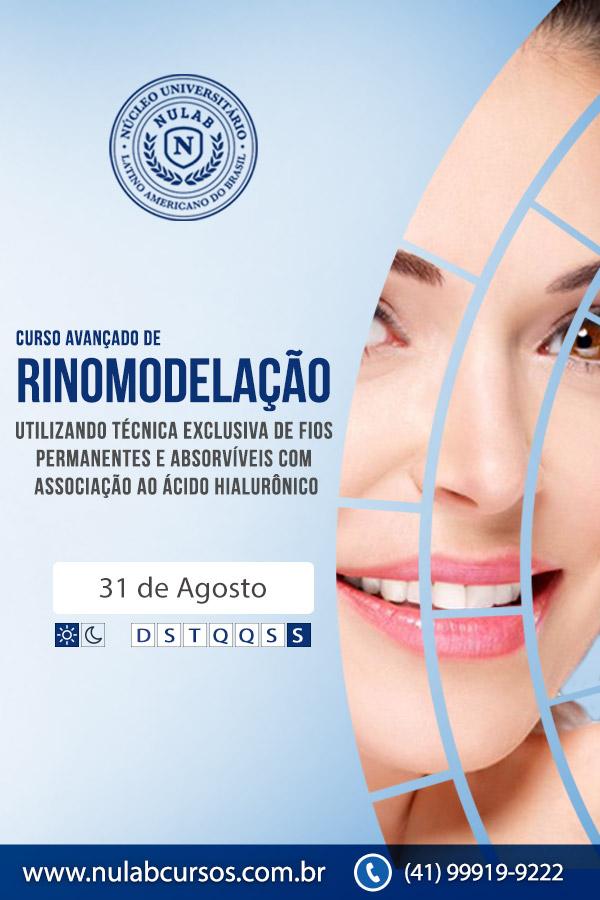 Curso de Rinomodelação na Harmonização Orofacial - Curitiba