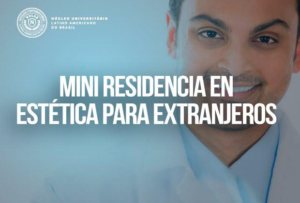 Mini Residencia en Estética para Extranjeros